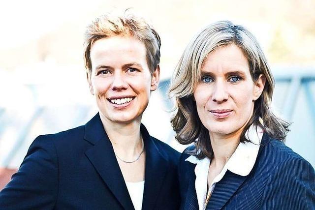 Eva und Vivian Schiffmann beherrschen die Kunst der Reklame