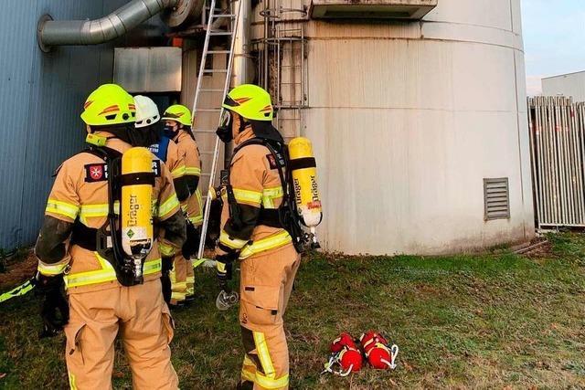 Rauch bei Silo in Heitersheim löst Feuerwehreinsatz aus