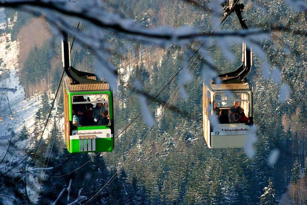Ob die Gondeln fahren, steht unter www.schauinslandbahn.de  | Foto: VAG Freiburg