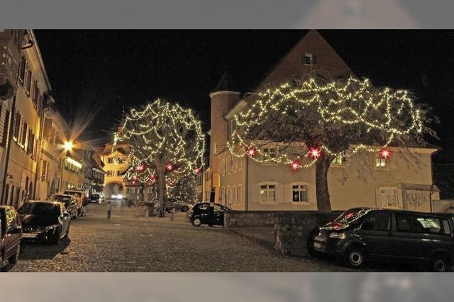 Lichterglanz in der Mittelstadt