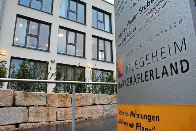 Insgesamt 13 Bewohner des Pflegeheims Markgräflerland sind an Covid-19 gestorben