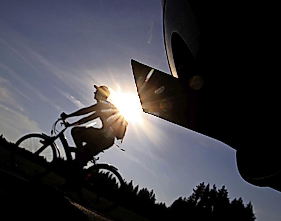 Umweltfreundlicher als der Autoverkehr...llemal – nicht nur in Heuweiler.    Foto: Karl-Josef Hildenbrand