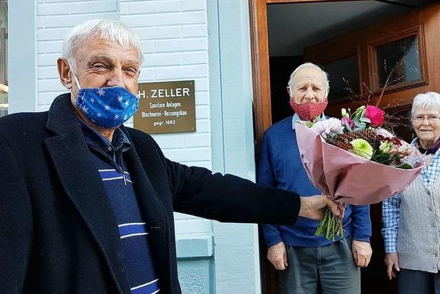 Todtnauer blickt auf 70 Jahre Mitgliedschaft in der Baugenossenschaft