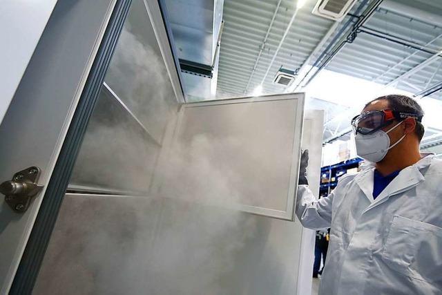 Beim Corona-Impfstoff ist die Einhaltung der Kühlkette unerlässlich