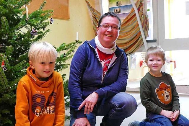 Fünf Kita-Kinder aus Grenzach-Wyhlen erzählen vom Warten