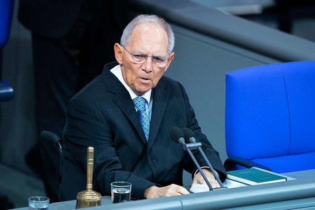 Das Amt des Bundestagspräsidenten hat in jüngster Zeit an Bedeutung gewonnen