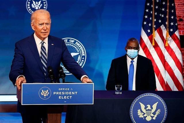 Joe Biden setzt auf ein Kabinett der Behaglichkeit