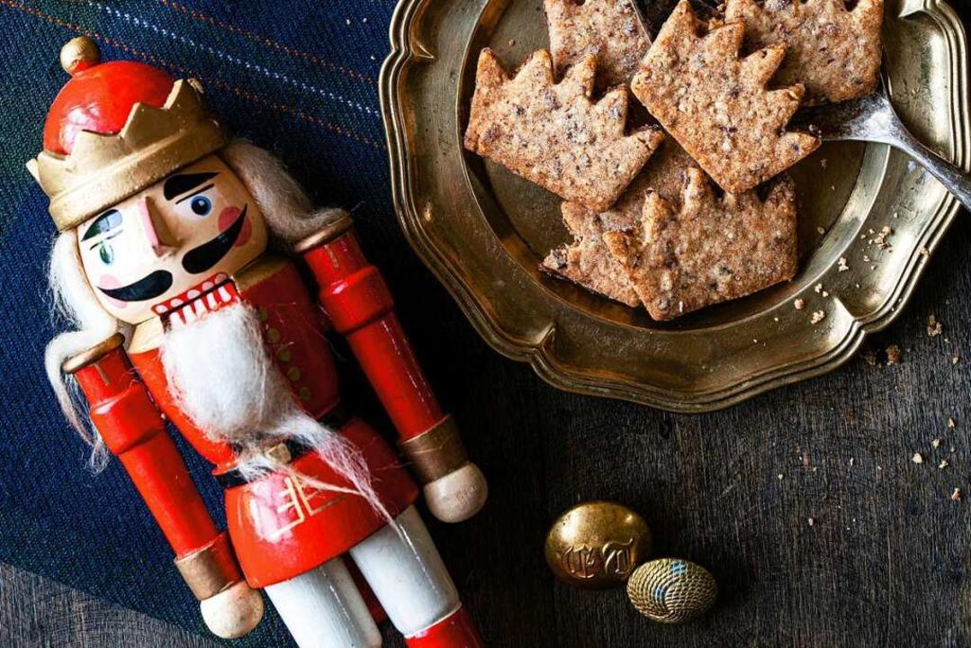 Wundervolle Weihnachtsbäckerei: So lau...chichten-, Dekorations- und Backbuchs.  | Foto: Melina Kutelas (Brandstätter Verlag)