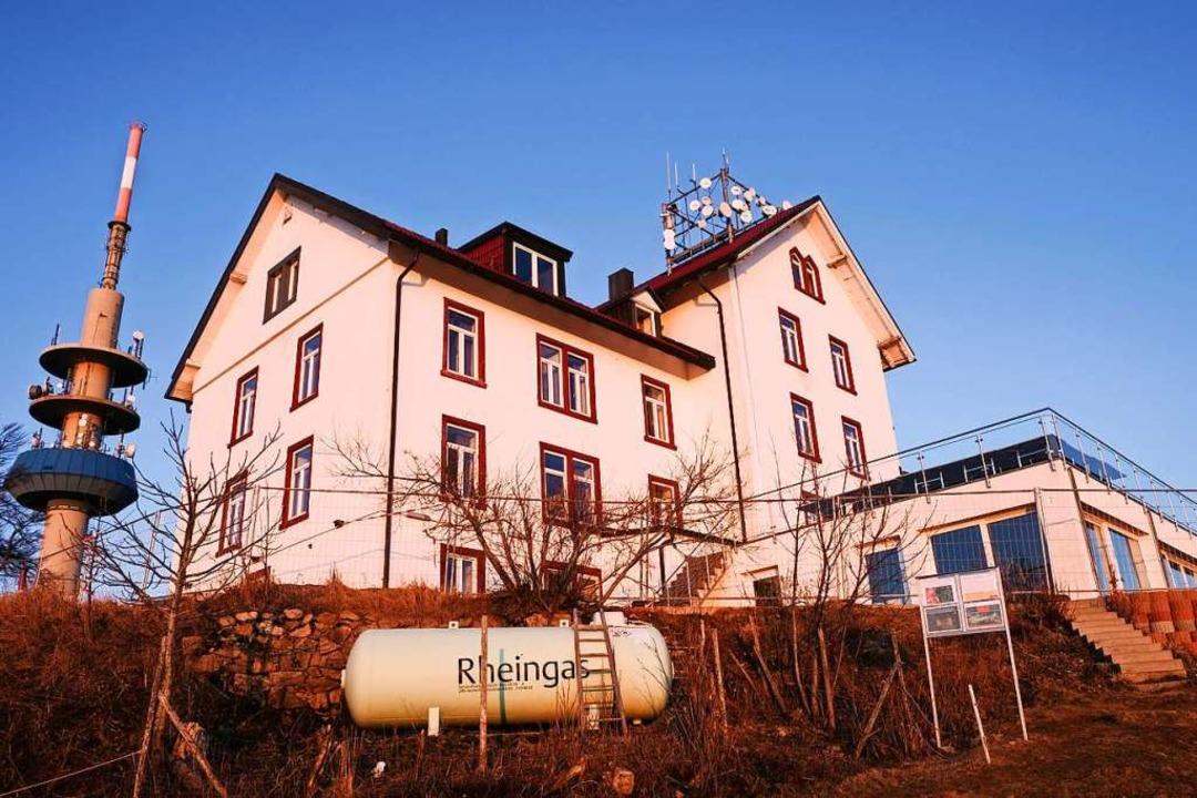 Seit fast einem Jahr ist das Berghaus Hochblauen geschlossen.  | Foto: Birgit-Cathrin Duval