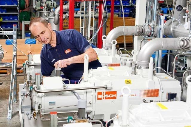 Firma Busch aus Maulburg ist der Meister der Vakuumpumpen