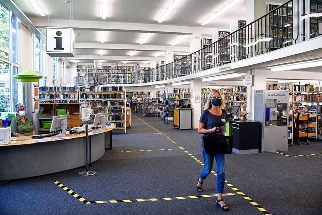 Freiburger Stadtbibliothek ab Mittwoch geschlossen
