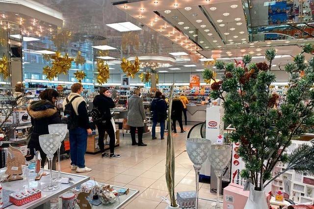Noch einmal Andrang in den Geschäften in Lahr und Ettenheim