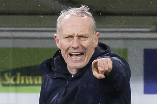 SC-Trainer Streich erwartet in Gelsenkirchen ein brisantes Spiel