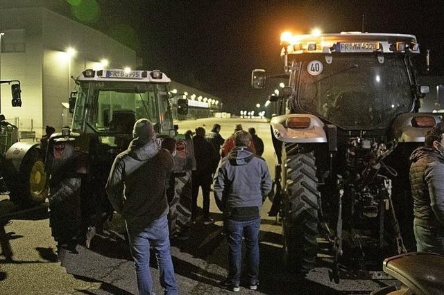 Landwirte demonstrieren erneut