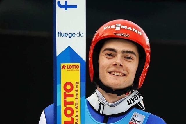 Skispringer David Siegel kehrt in den Weltcup zurück