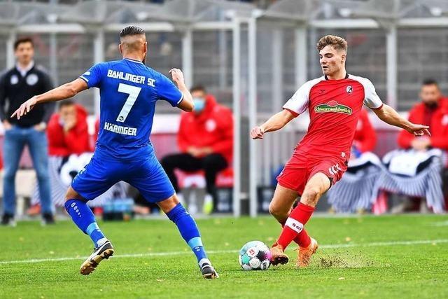 SC Freiburg II nimmt gegen FC Gießen den Spielbetrieb wieder auf