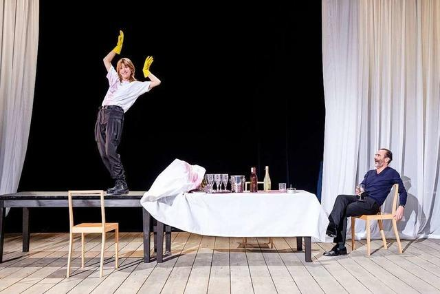 Am Theater Freiburg endet das Stück vorerst mit der Generalprobe