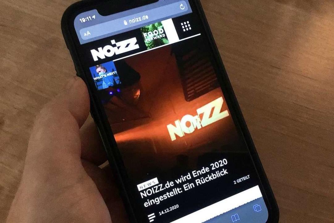 noizz.de wird eingestellt  | Foto: Konstantin Görlich