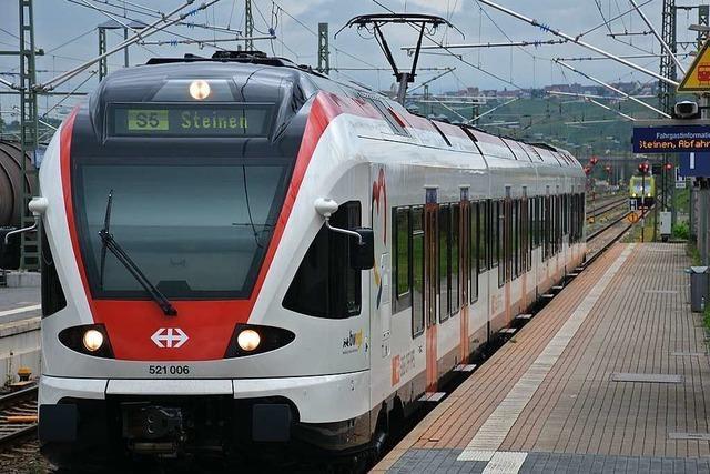 Bei der Regio S-Bahn im Kreis Lörrach wurden Lücken im Fahrplan geschlossen