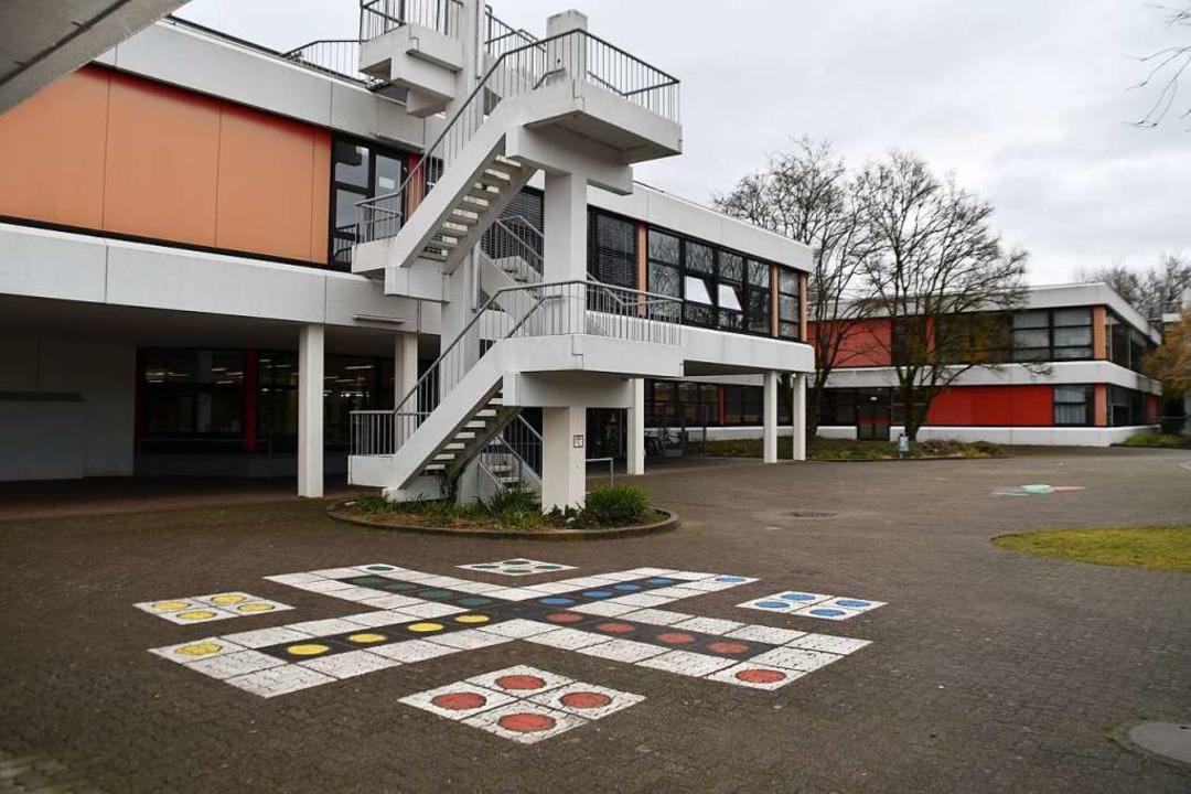 Mit 900 Schülern hat das Schulzentrum ...en großen Bedarf an Schulsozialarbeit.  | Foto: Maja Tolsdorf