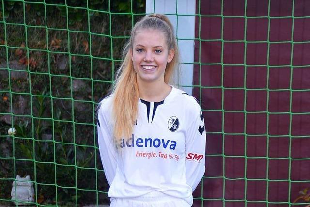 Eine Schönauer Fußballerin hat die Chance auf eine große Karriere beim SC Freiburg