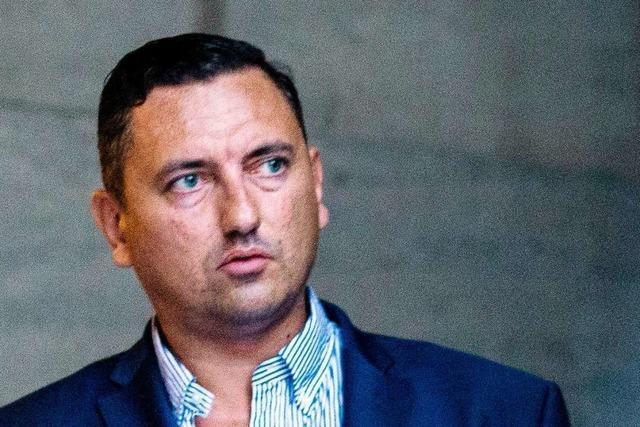 AfD-Politiker Dubravko Mandic steht vor dem Rauswurf