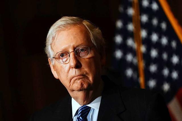 Republikanischer Mehrheitsführer im Senat erkennt Bidens Sieg an