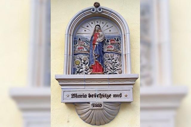 Corona-Madonna für die Kapelle