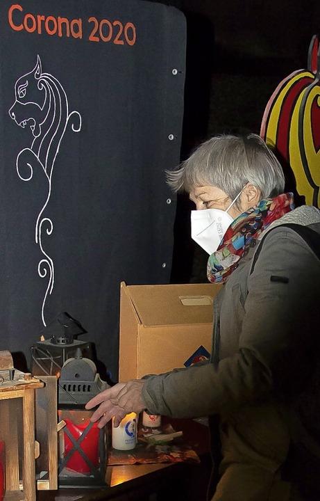 Holt seit vielen Jahren Friedenslicht nach Maulburg: Mechthild Sommer  | Foto: Paul Eischet