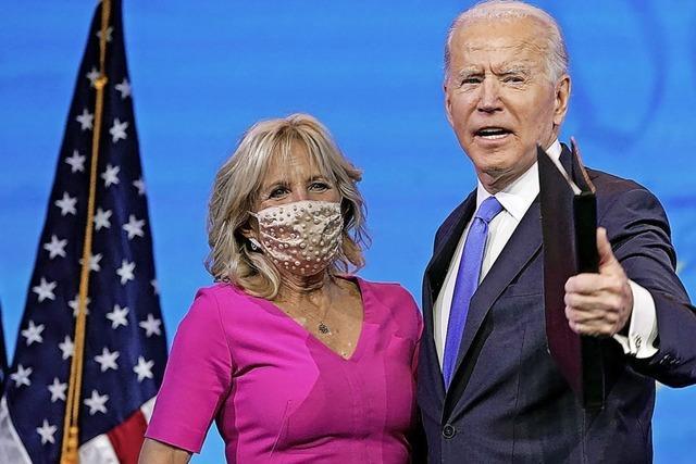 Am Ende wurde Joe Biden ganz normal gewählt