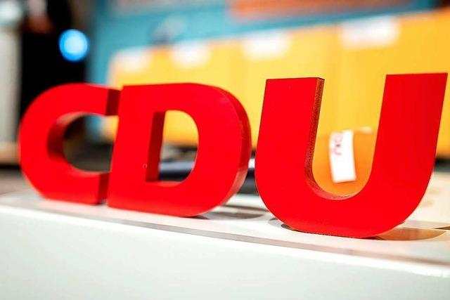 Die CDU im Wahlkreis Lörrach-Müllheim hat mehr Kandidatenauswahl als gedacht