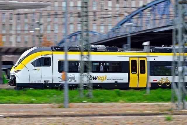 Schrecksekunde an Bahnlinie bei Gottenheim