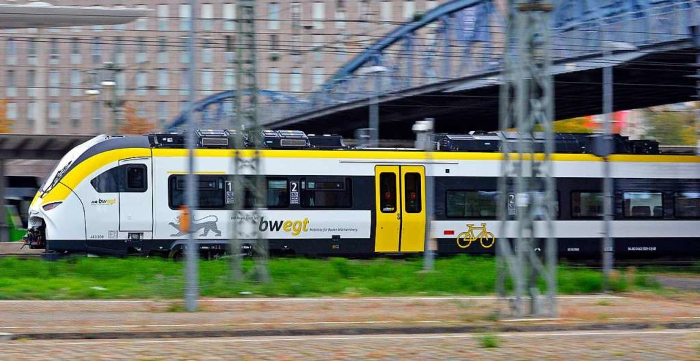 Strecke zwischen Gottenheim und Freibu...wochmorgen knapp eine Stunde gesperrt.  | Foto: Michael Bamberger