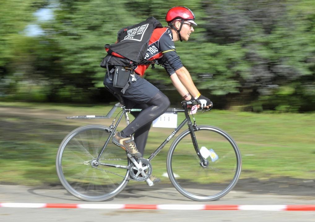 Fahrradkurier  | Foto: Michael Bamberger