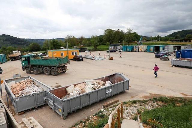 Mülldeponien im Ortenaukreis bleiben während des Lockdowns geöffnet