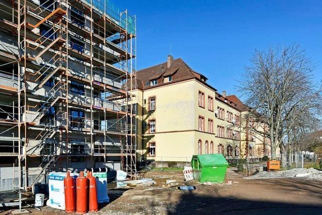Ehemalige Kasernenanlage in Mooswald wird für 12,6 Millionen Euro saniert
