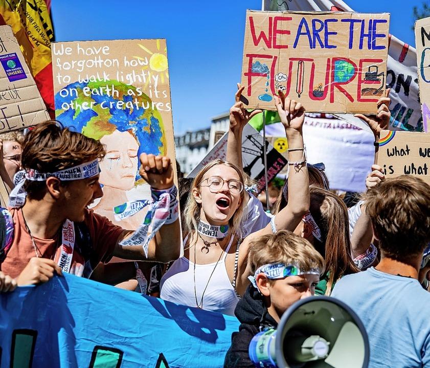 Auch junge Menschen können Politik.   | Foto: Marcel Kusch