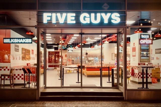 Burgerkette Five Guys eröffnet am Dienstag Filiale in der Kajo