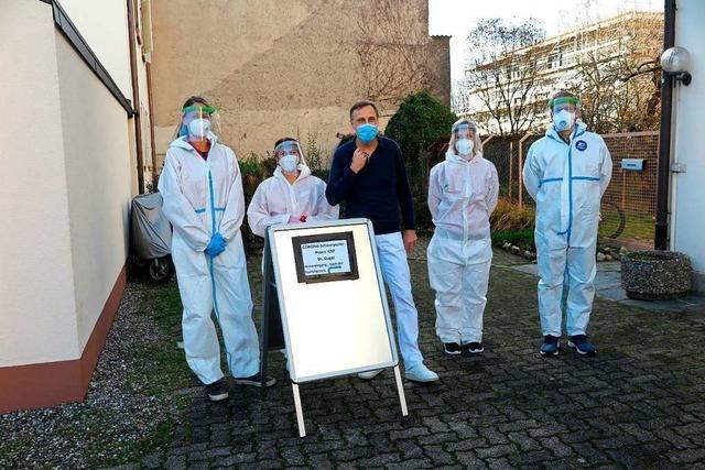Schwerpunktpraxen spielen eine wichtige Rolle in der regionalen Pandemie-Bekämpfung