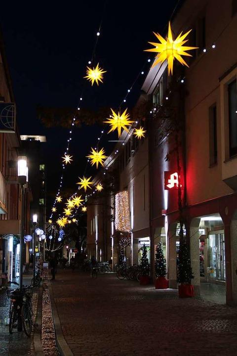 Lichter in der Schiffstraße    Foto: Joshua Kocher