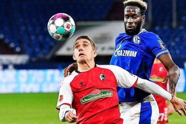Fotos: Der SC Freiburg gewinnt auswärts mit 2:0 gegen Schalke 04