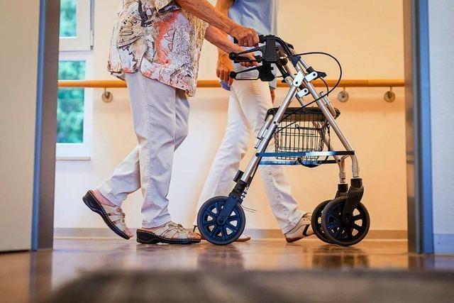 Pflegeeinrichtungen in Freiburg haben bisher Glück gehabt