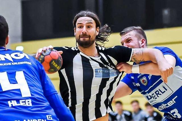 Die bewegte Karriere des Lörracher Handball-Profis Dennis Krause