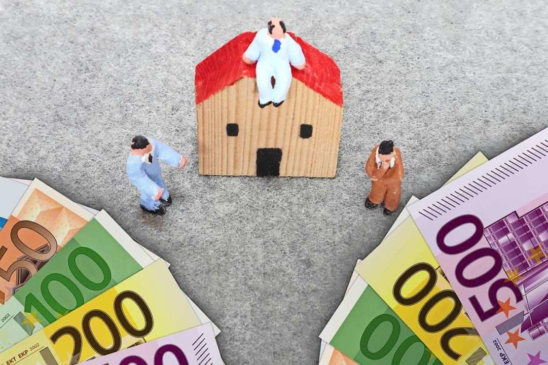 Beim Immobilienkauf werden die Maklerkosten in Zukunft geteilt.  | Foto: BBuilder/Julydfg  (stock.adobe.com)