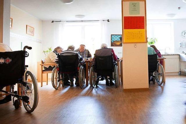 Corona-Krise bringt Pflegeheime an den Rand der Belastungsgrenze