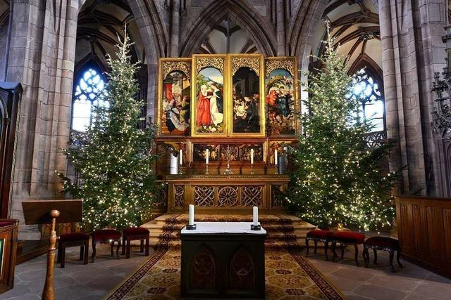 Gottesdienste in Freiburg finden an Weihnachten wohl statt