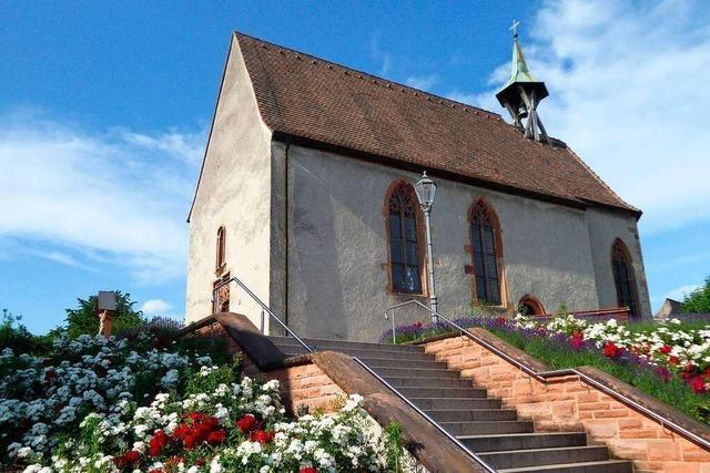 Die Bötzinger St. Alban-Kapelle wurde in Notzeiten als