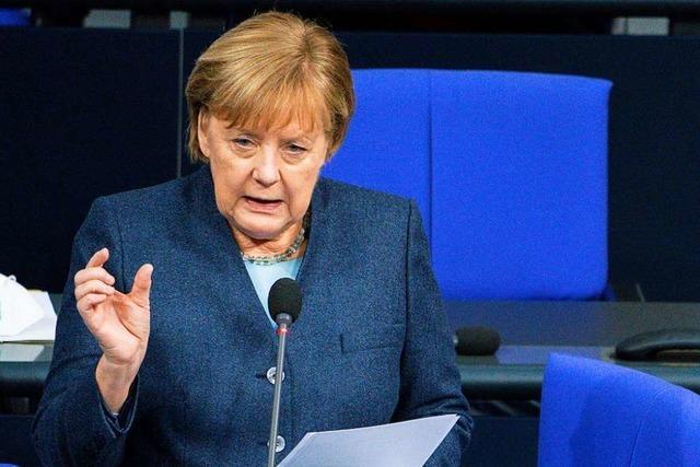 Kanzlerin Merkels Kurs in der Corona-Krise gewinnt weiter an Vertrauen