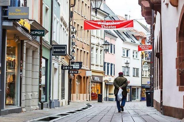 Fotos: Freiburg gleicht im zweiten Lockdown einer Geisterstadt