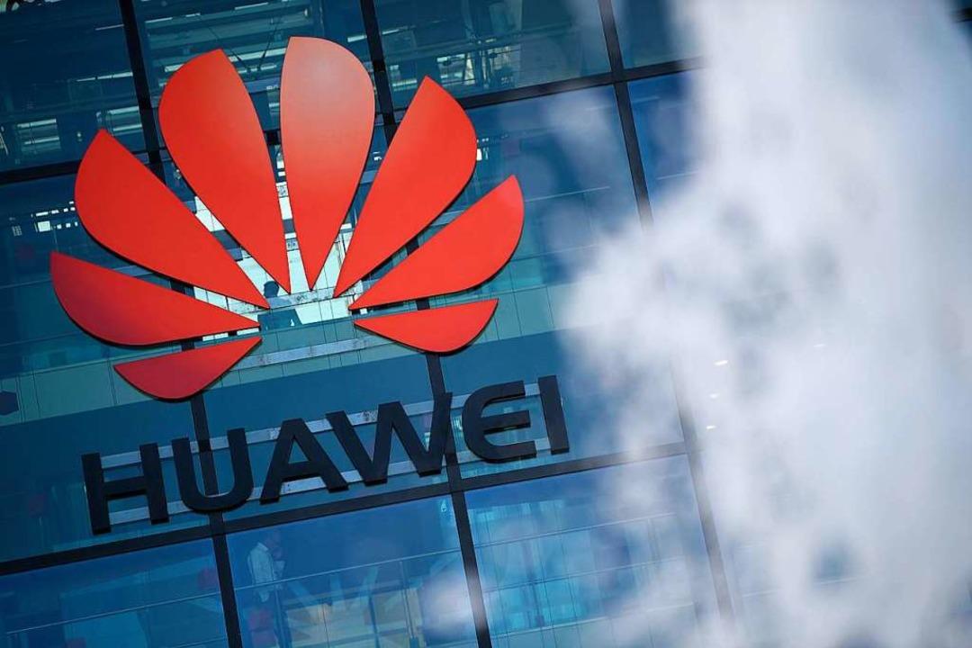 Die England-Zentrale von Huawei in Reading.  | Foto: DANIEL LEAL-OLIVAS (AFP)